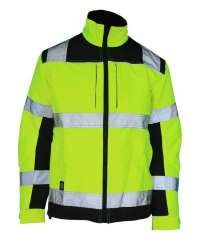 Флуоресцентная желтая куртка
