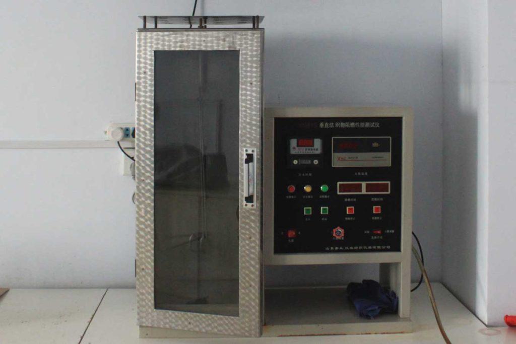 Вертикальное машин испытание на сгорания