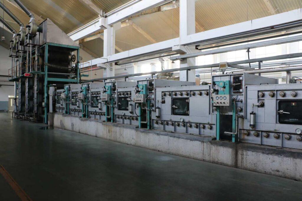 Машина для влажно-тепловой обработки тканей после печатания 2