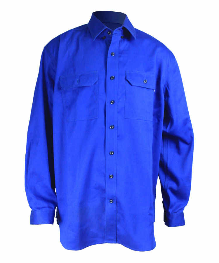 Антимоскитная Рубашка Синего Цвета