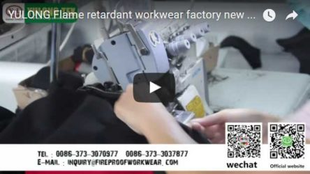 Yulong Flame Retardant Workwear Factory video 3