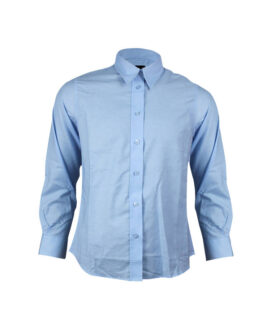 Легкая Антистатическая Рубашка Синего Цвета
