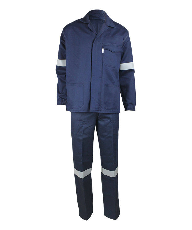 Темно-синий анти-дуги анти-статический костюм