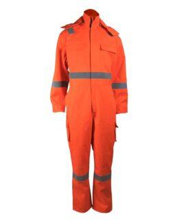 Флуоресцентный оранжевый комбинезон