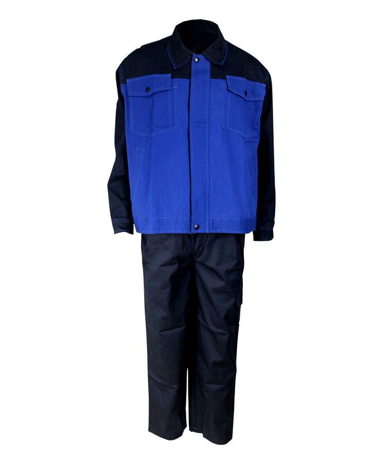 Морской флот и королевский синий огнеупорный костюм из двух частей