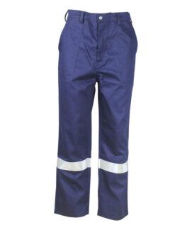 Темно-синий анти дуги брюки