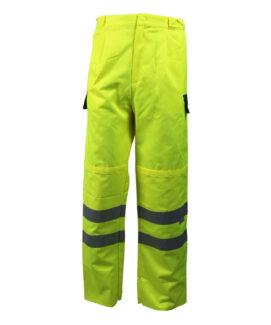 Флуоресцентный желтый водонепроницаемый брюки