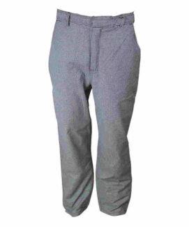 Серый клетчатый анти-статические брюки