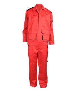 Красный анти-дуги костюм
