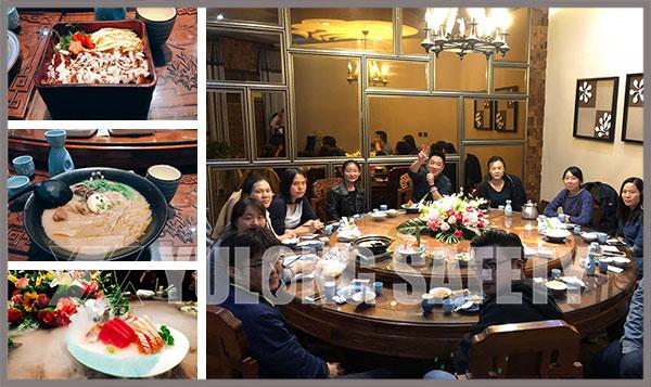 Отдел продаж текстильной сети Xinxiang Yulong празднует третий квартал «урожая бампера»