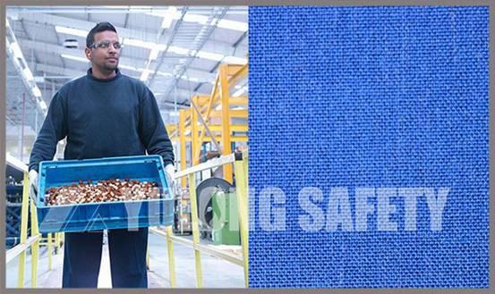 Клиенты Южной Азии приезжают для того чтобы подписать заказ ткани голубой огнестойкость
