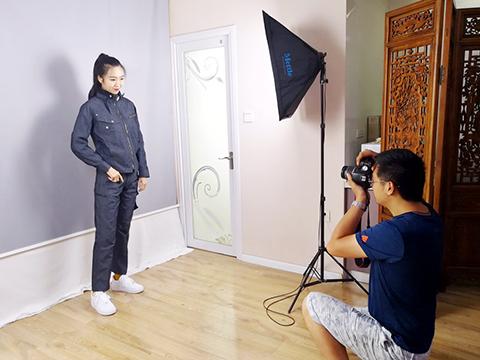 Yulong текстильной текстильная специальная модель для съемки новой партии рабочих костюмов