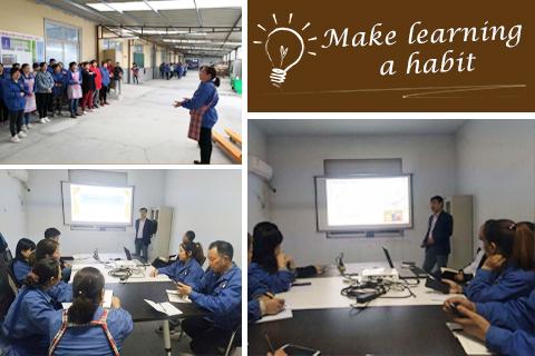 Организация внутреннего тренинга на текстильной и швейной фабрике