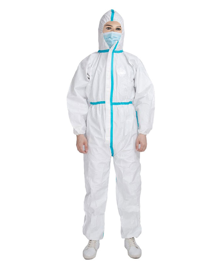 Одноразовая изолирующая защитная одежда